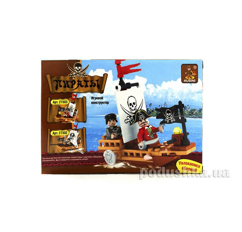 Игровой конструктор Аусини Пиратская парусная лодка LEGO Ausini 27303