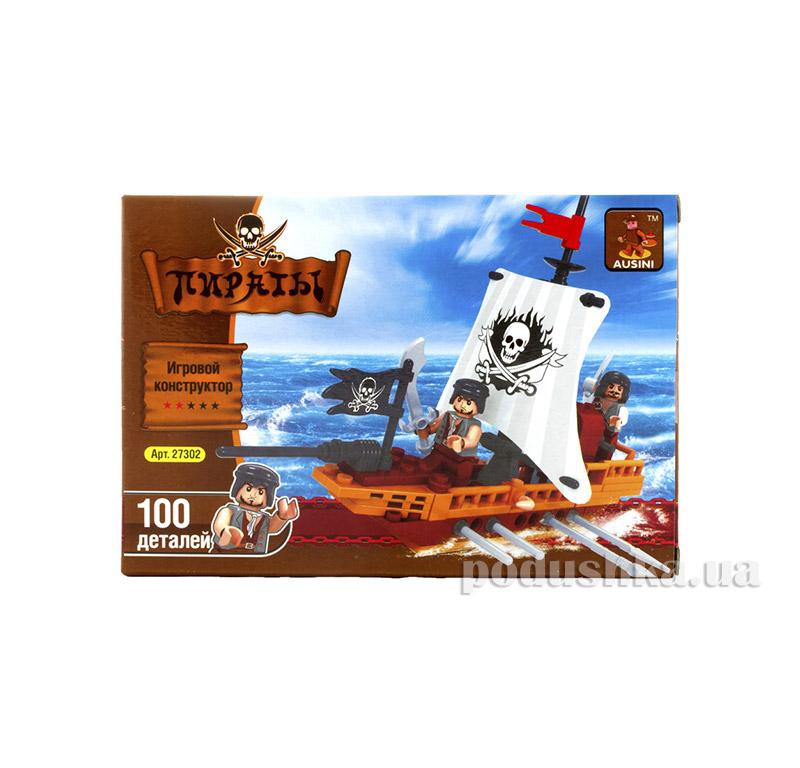 Игровой конструктор Аусини Пиратский корабль LEGO Ausini 27302