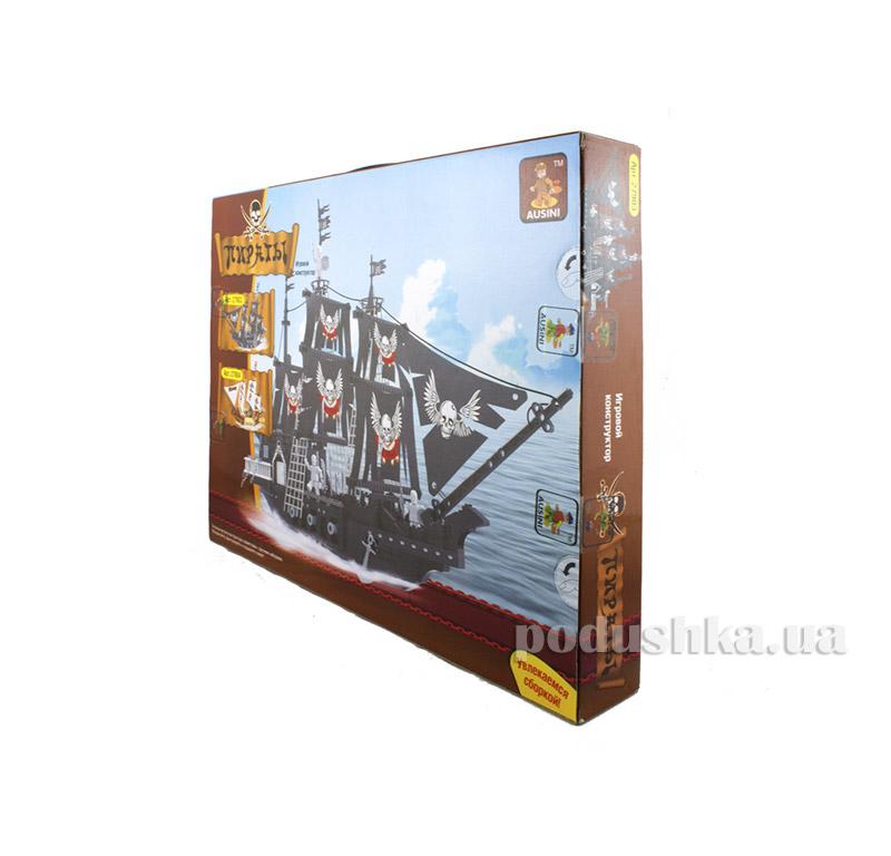 Игровой конструктор Большой пиратский корабль Revenant LEGO Ausini 27903
