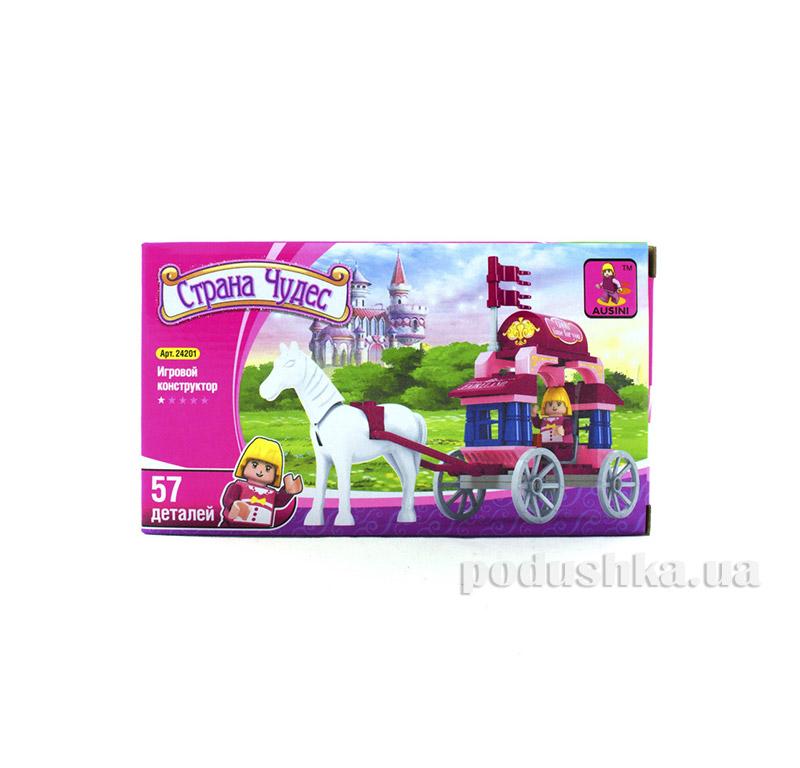 Игровой конструктор для девочек Легкая карета LEGO Ausini 24201