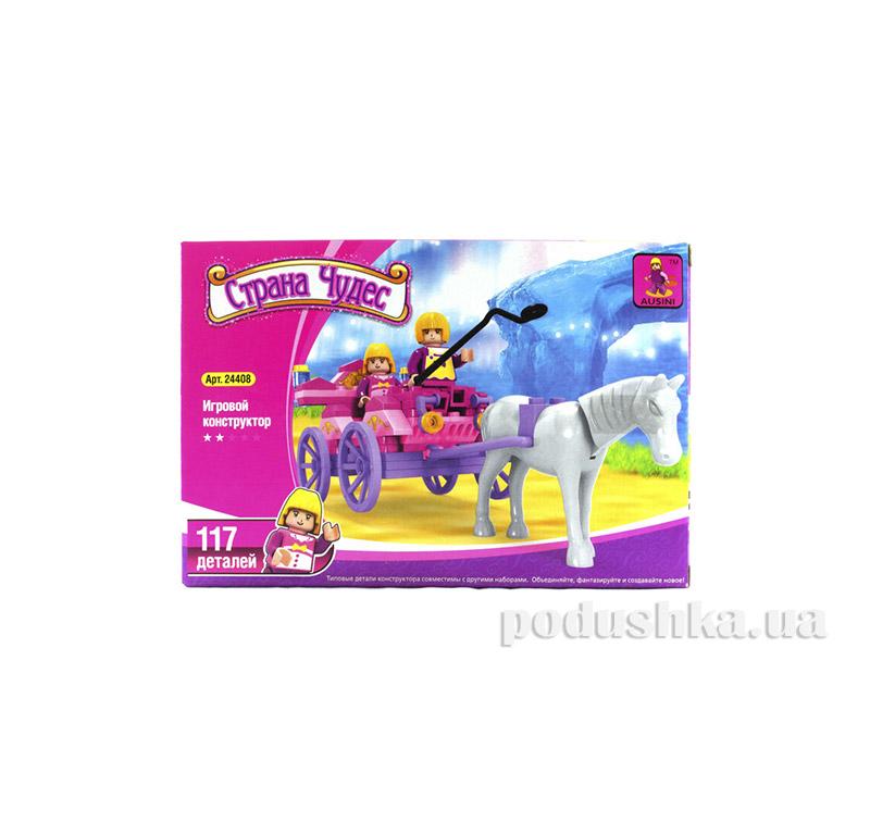 Игровой конструктор для девочек Повозка-кабриолет LEGO Ausini 24408