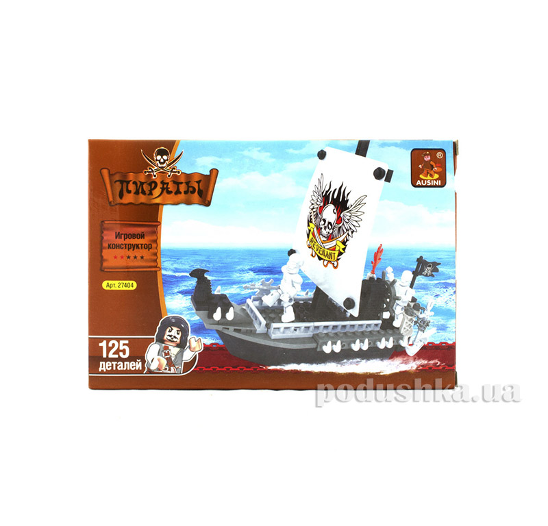 Игровой конструктор Корабль мертвецов LEGO Ausini 27404