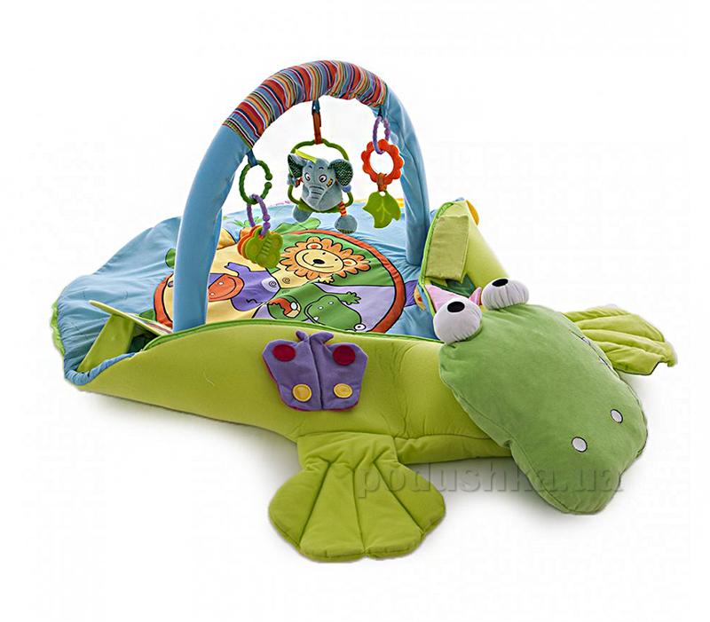 Игровой коврик-трансформер Biba Toys Крокодил 4 в 1 433JF