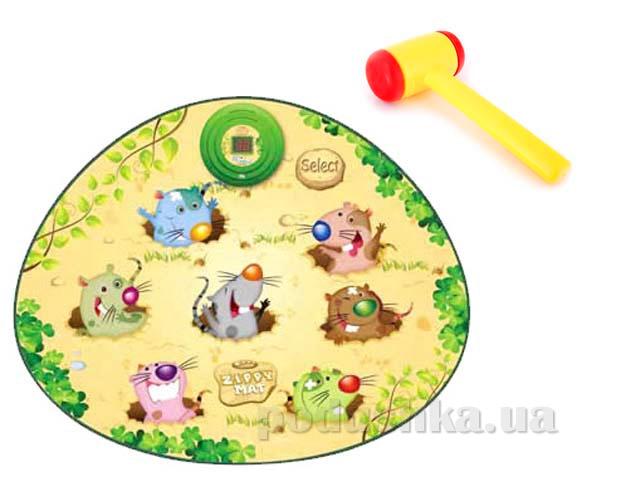 Игровой музыкальный коврик Touch&Play Весёлые бобры с молоточком