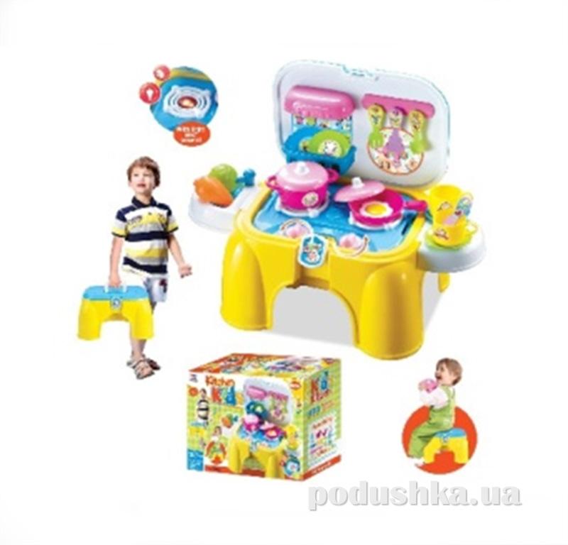 Игровой набор 2в1 Кухня-стульчик Kiddy Fun 547059LK-KF