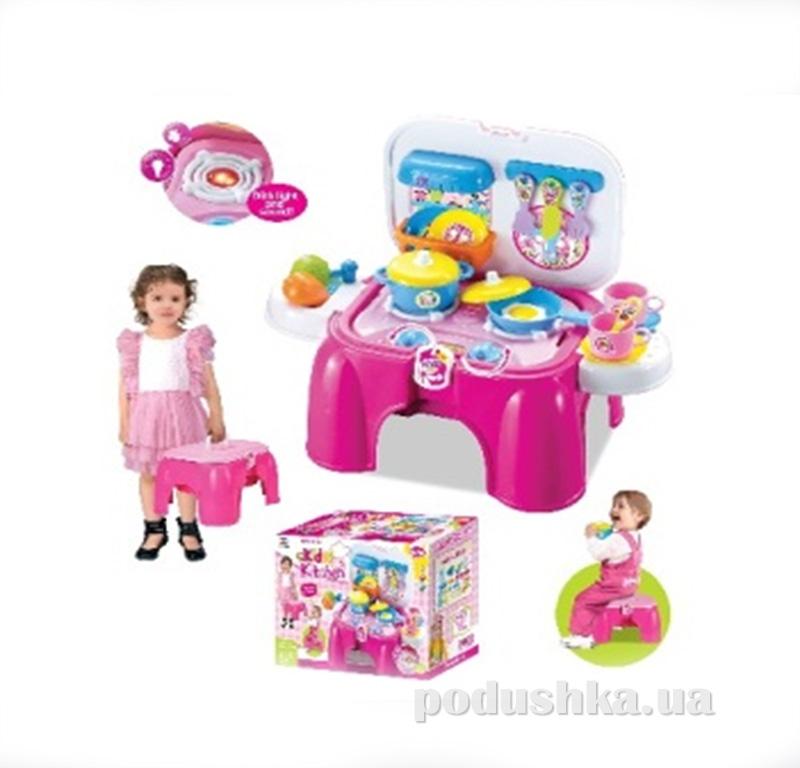 Игровой набор 2в1 Кухня-стульчик Kiddy Fun 547062LK-KF