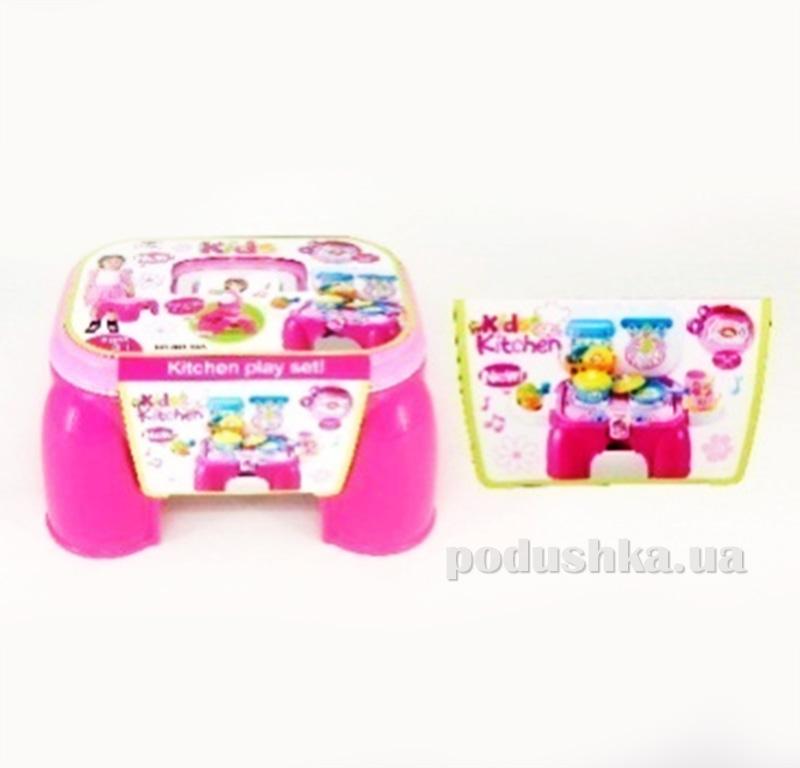 Игровой набор 2в1 Кухня-стульчик Kiddy Fun 547970LK-KF