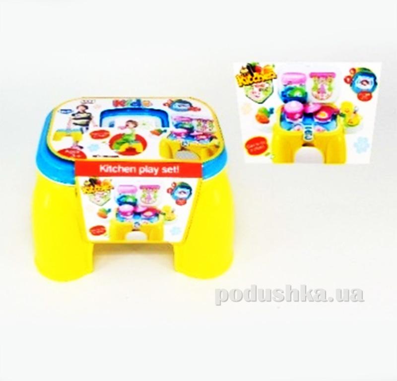 Игровой набор 2в1 Кухня-стульчик Kiddy Fun 547971LK-KF