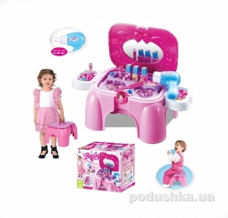 Игровой набор 2в1 Парикмахерская-стульчик Kiddy Fun 547964LM-KF