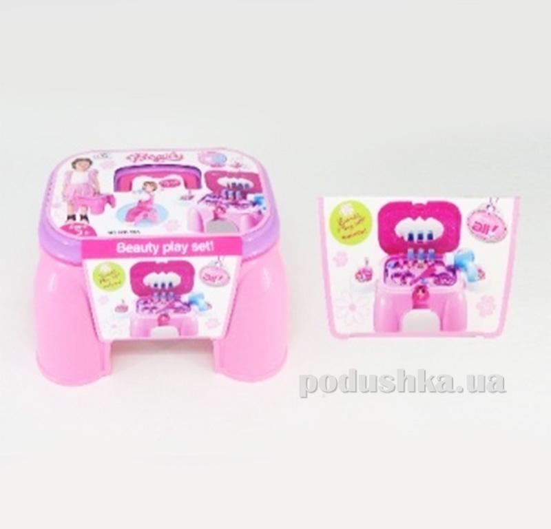 Игровой набор 2в1 Парикмахерская-стульчик Kiddy Fun 547968LM-KF