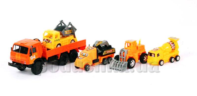 Игровой набор Камаз аварийная техпомощь с машинкой Технопарк KAMAZ-22