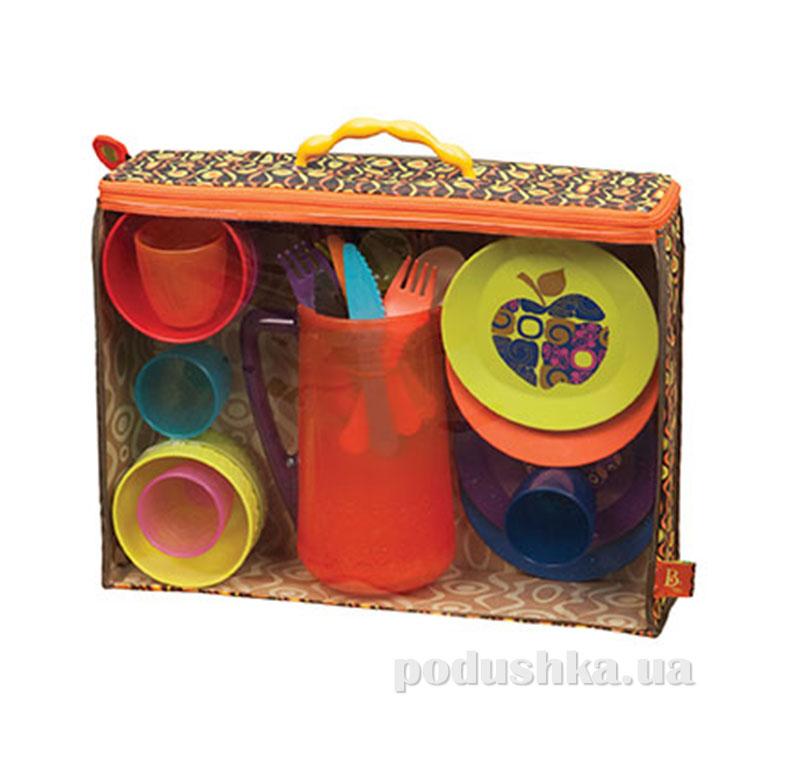 Игровой набор - Красочный пикник (25 предметов) Battat BX1367Z