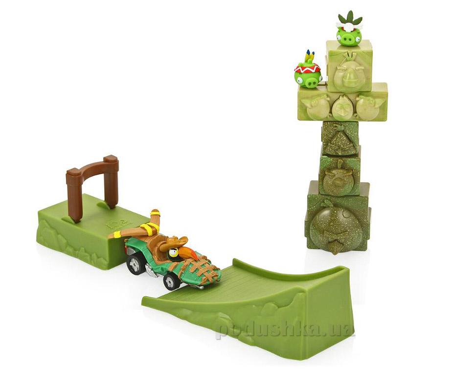 Игровой набор Angry Birds Go! Разрушение башни Hasbro A6437