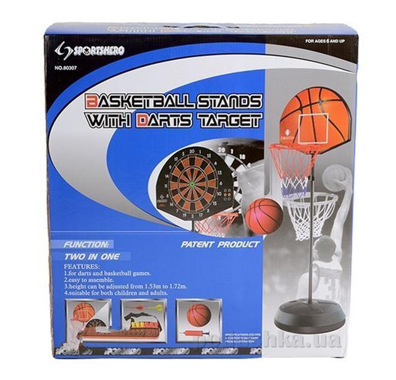 Игровой набор Bambi Баскетбол + Дартс MS 0609