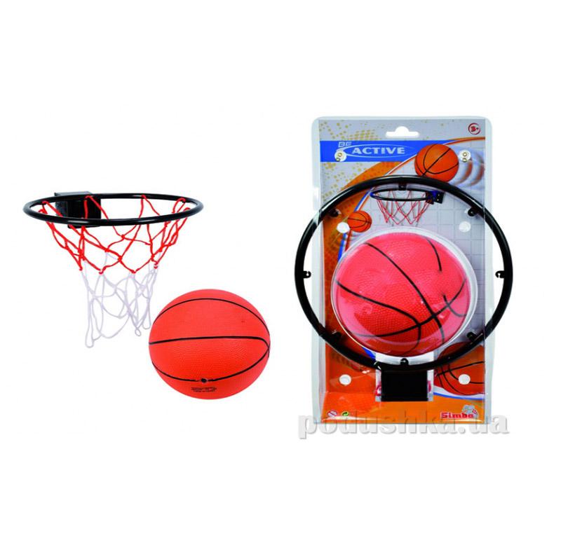 Игровой набор баскетбольная корзина с мячом Simba 740 0675