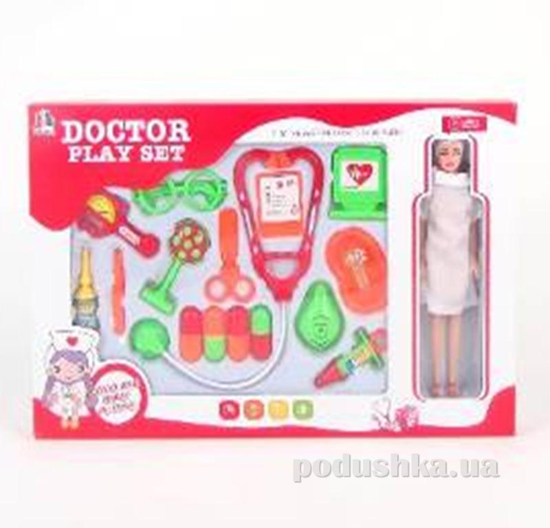 Игровой набор для девочки Доктор 17 предметов Doctor Toys 516725LD