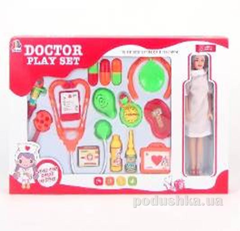Игровой набор для девочки Доктор 18 предметов Doctor Toys 516726LD