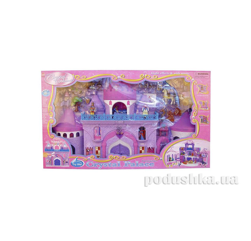 Игровой набор для девочки Хрустальный замок 16398