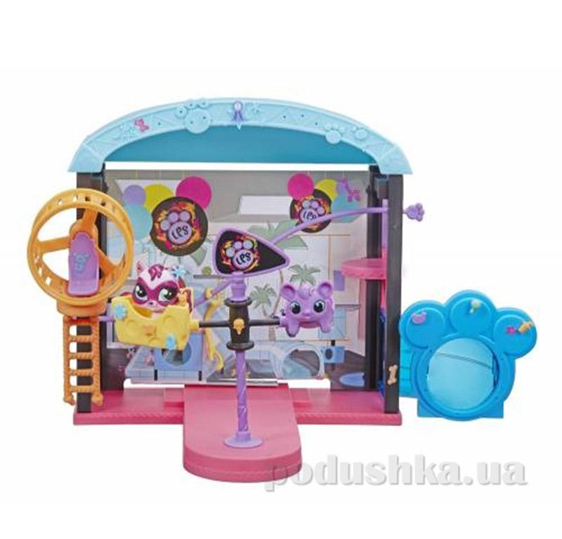 Игровой набор для девочки LPS Веселый парк развлечений B0249