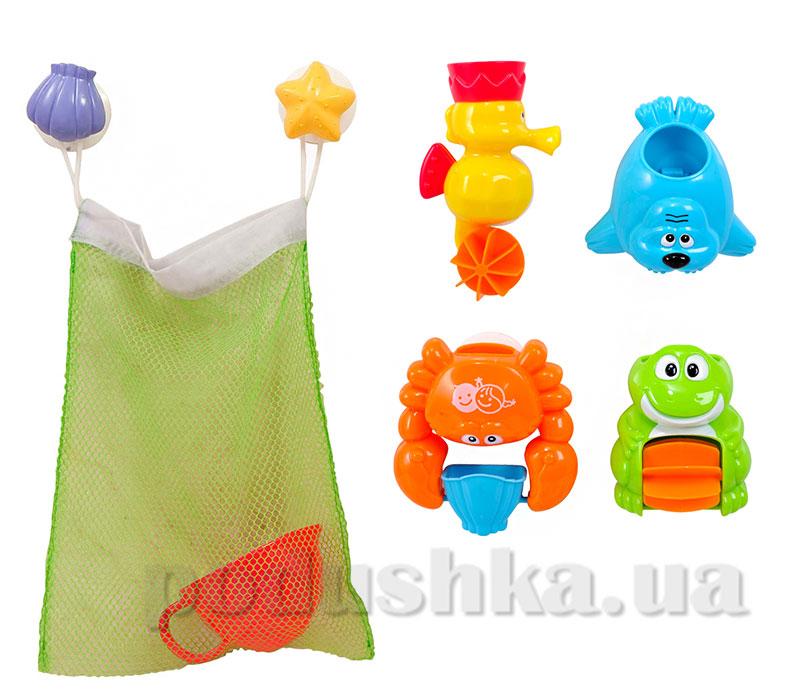 Игровой набор для ванны Морские друзья PlayGo