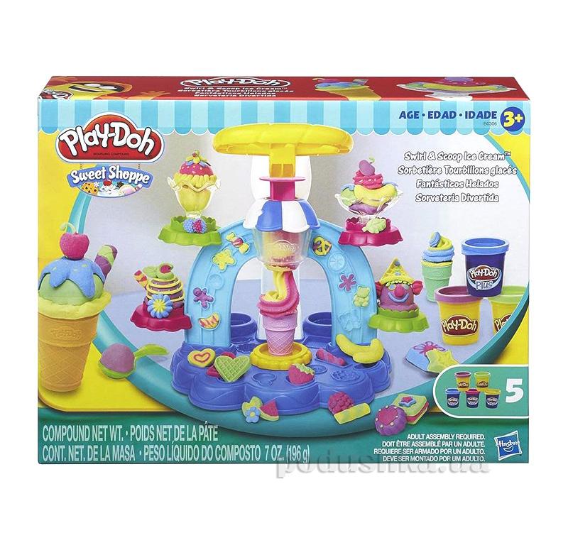 Игровой набор Фабрика мороженого Play-Doh Hasbro AKT-B0306