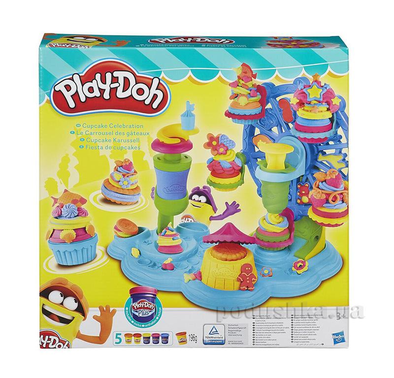 Игровой набор Карнавал сладостей Play-Doh Hasbro AKT-B1855