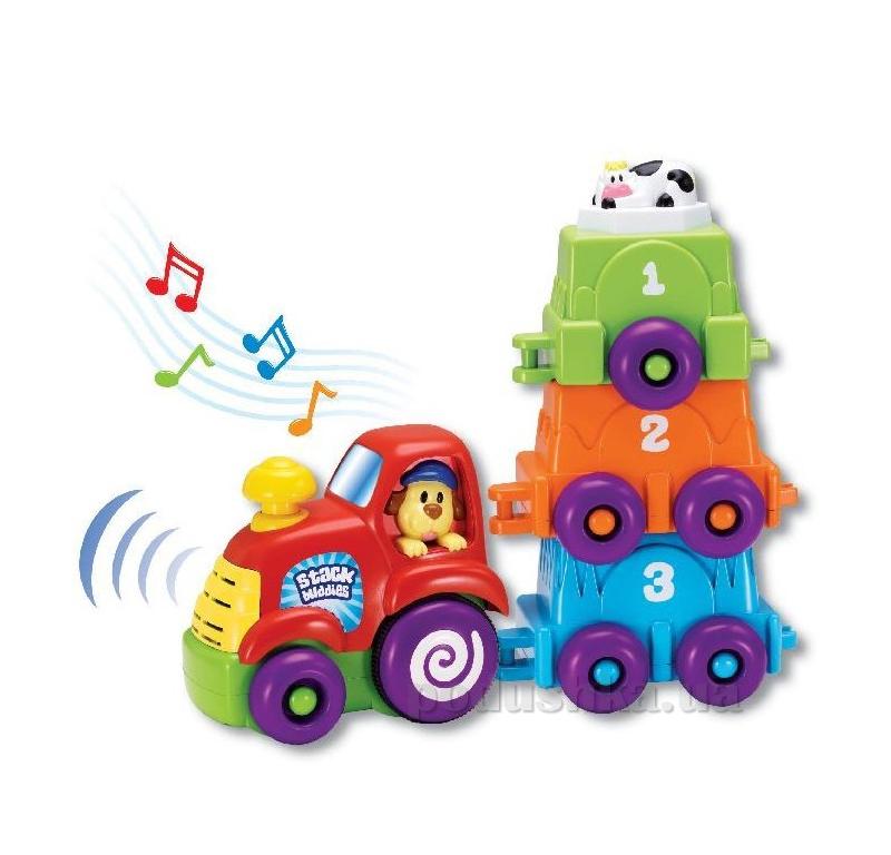 Игровой набор Keenway Музыкальный трактор 31242