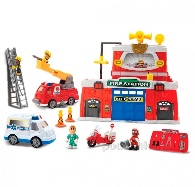 Игровой набор Keenway Пожарная станция 12636