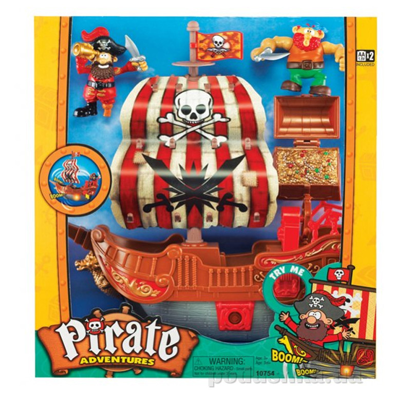 Игровой набор Keenway Приключения пиратов 10754