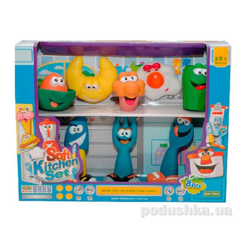 Игровой набор Кухня 8 шт. Baby Team AKT-8811