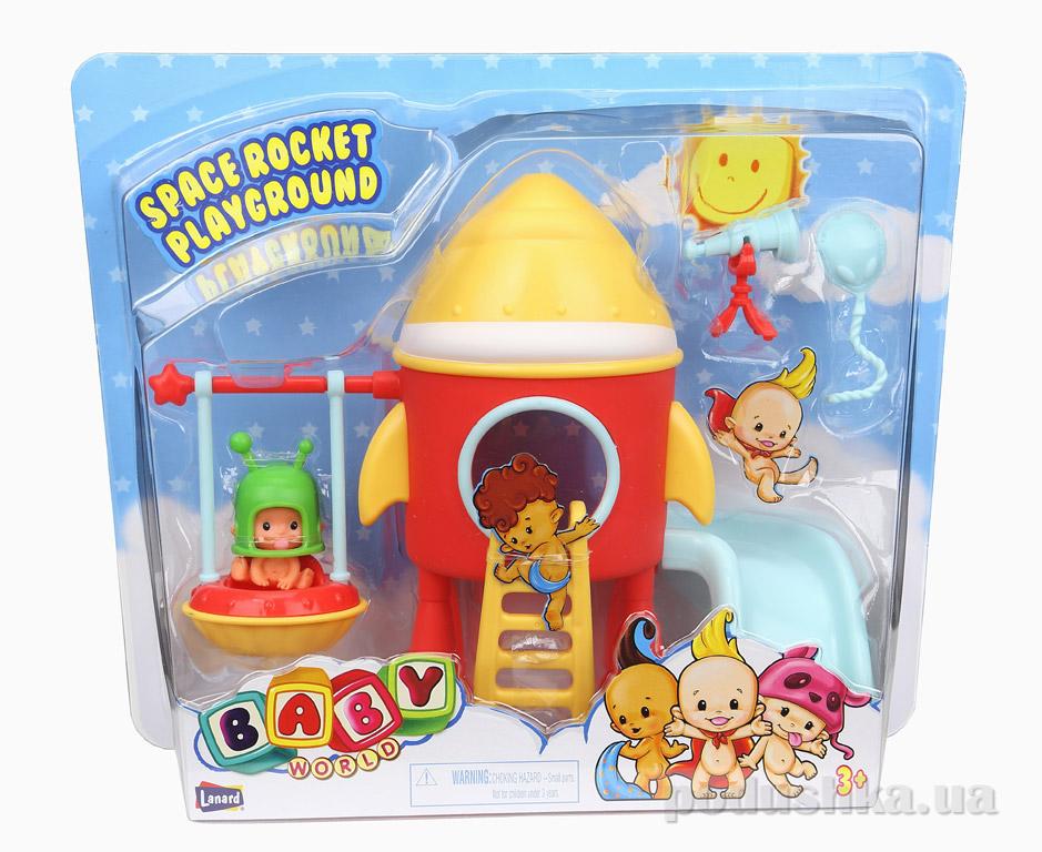 Игровой набор Lanard Baby world Космическая ракета