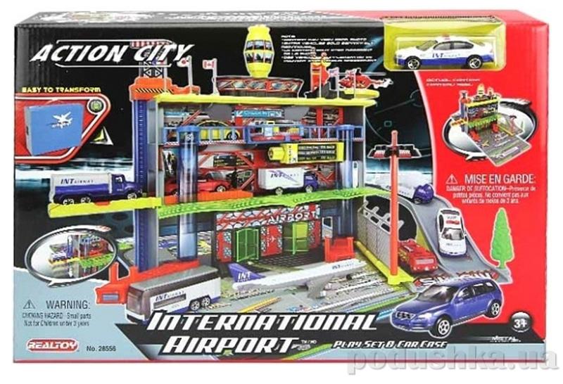 Игровой набор Международный аэропорт  3-и уровня с машиной Realtoy