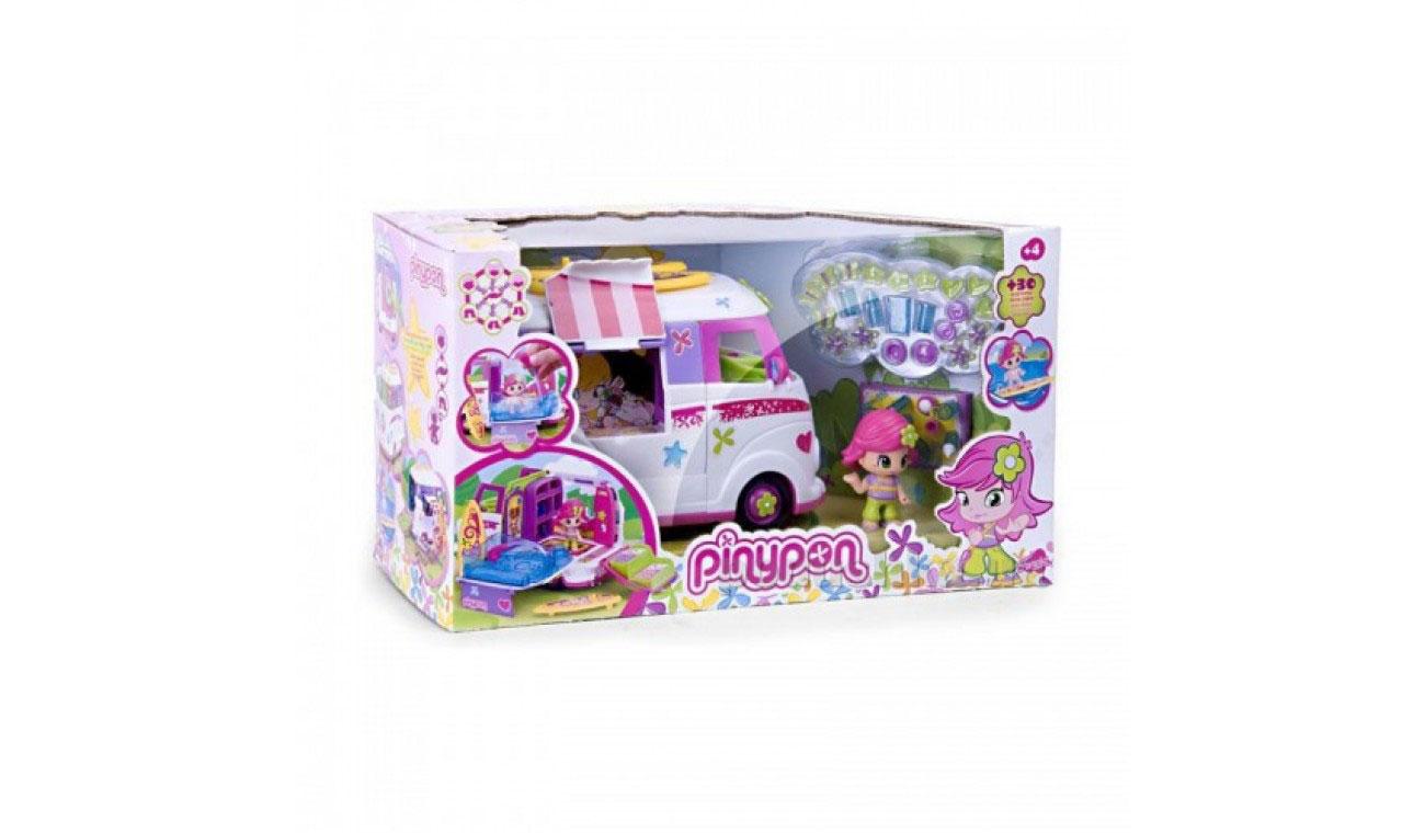 Игровой набор Микроавтобус серии Пинипон-Путешествие Pinypon 700008921