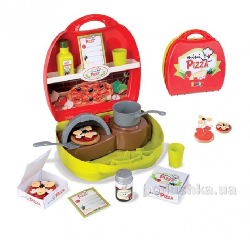 Игровой набор Мини-кейс Пиццерия Smoby 024467