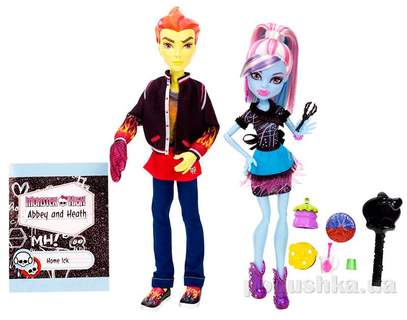 Игровой набор Monster High Эбби Боминейбл и Хит Бернс Mattel BBC80