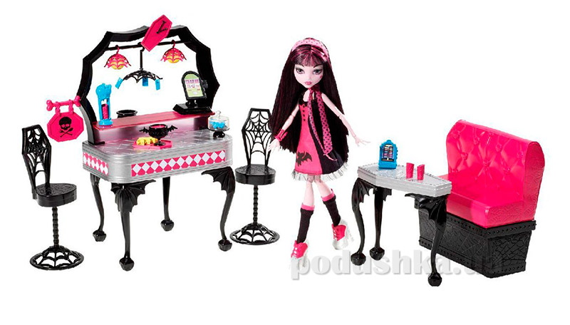 Игровой набор Monster High Ужин Дракулоры Y7719
