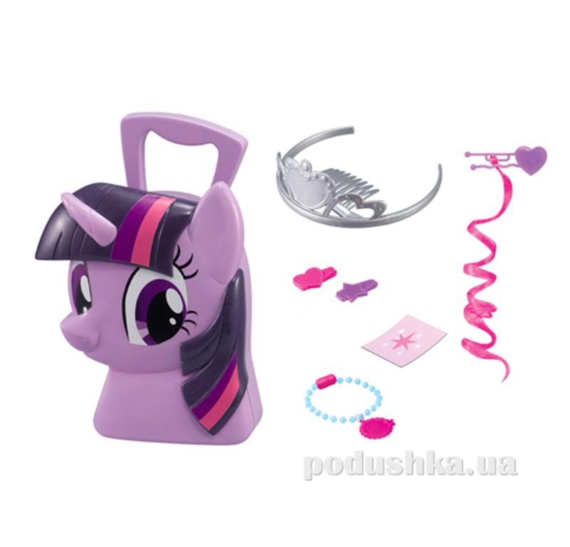 Игровой набор My Little Pony - Кейс принцессы Сумеречной, искорки (с аксессуарами) 1680806