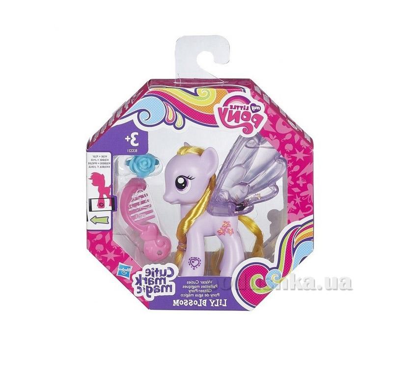Игровой набор My little Pony Пони с блестками Лили Блоссом