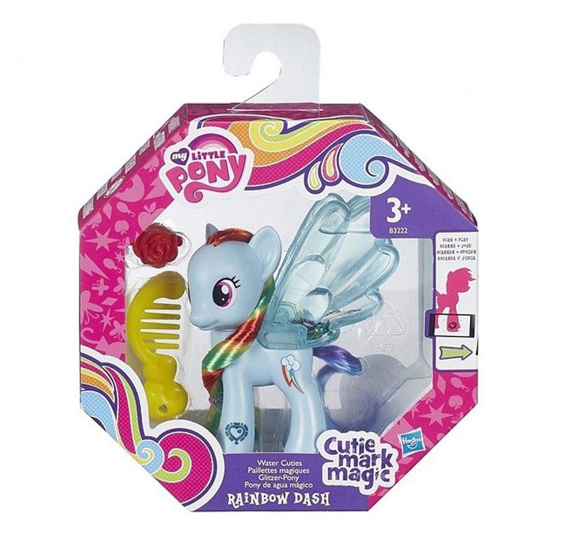 Игровой набор My little Pony Пони с блестками Рейнбоу Дэш