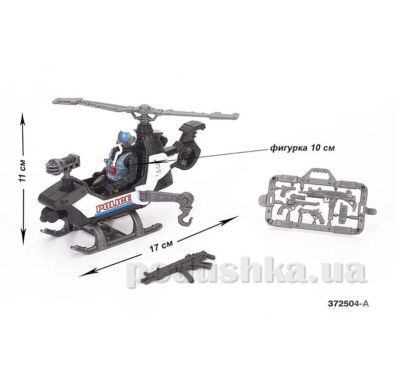 Игровой набор Полиция 2 - в ассор. 2 вида (фигурка полицейского с оружием, вертолётом или квадроциклом)
