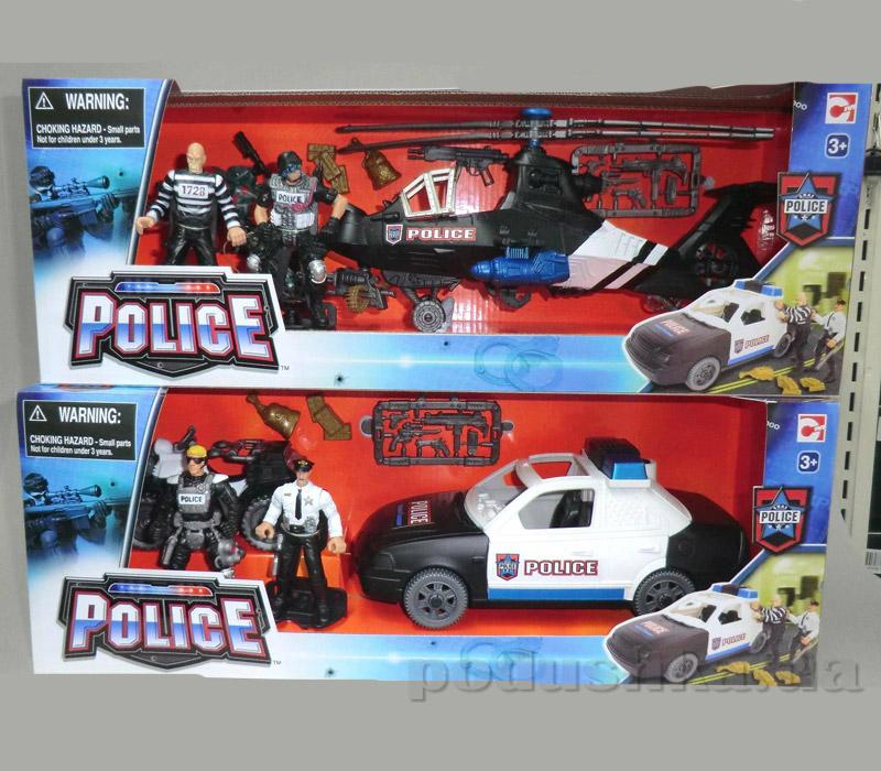 Игровой набор Полиция 2 - в ассорт. 2вида Chap Mei