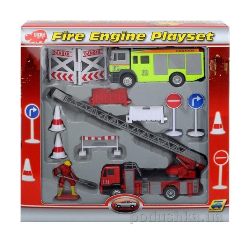 Игровой набор Пожарная служба Dickie 3315396