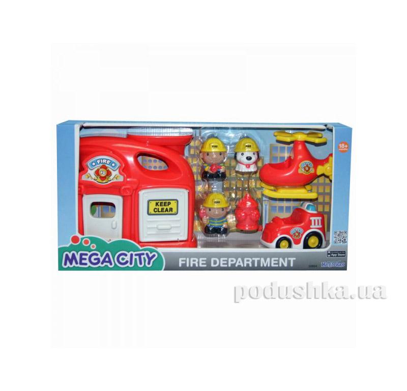 Игровой набор Пожарная станция Keenway 32804