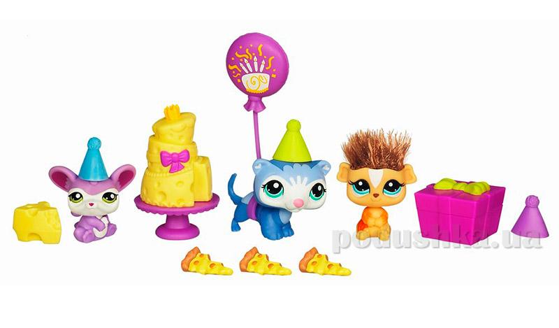 Игровой набор Приключения Зверюшек Hasbro Littlest Pet Shop 38048