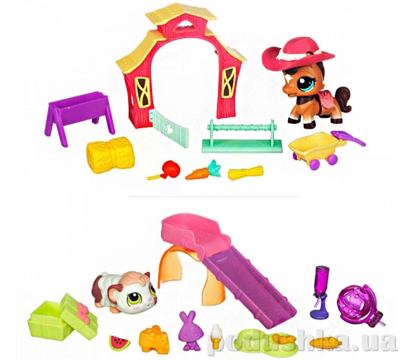 Игровой набор с ходячим зверьком Hasbro Littlest Pet Shop