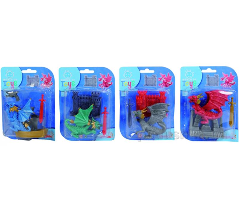 Игровой набор Simba Дракон 4 вида 437 6818