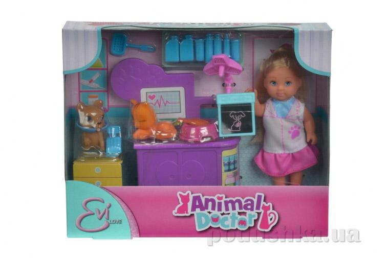 Игровой набор Simba Эви Ветеринар для домашних любимцев 5732798