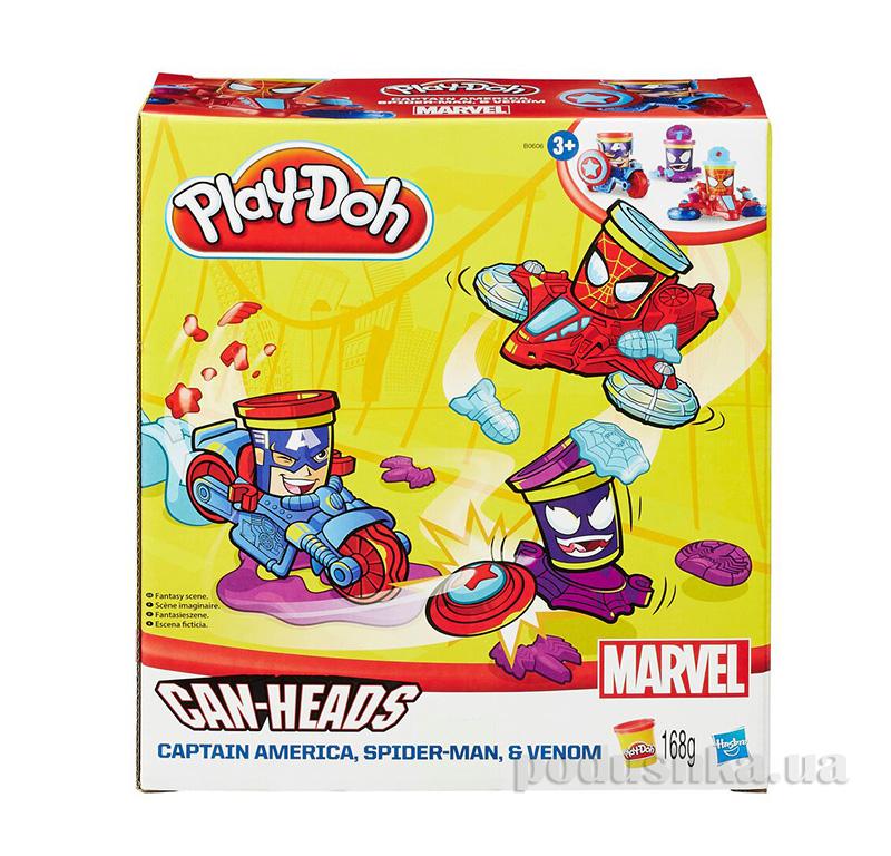 Игровой набор Транспортные средства героев Марвел Play-Doh Hasbro AKT-B0606