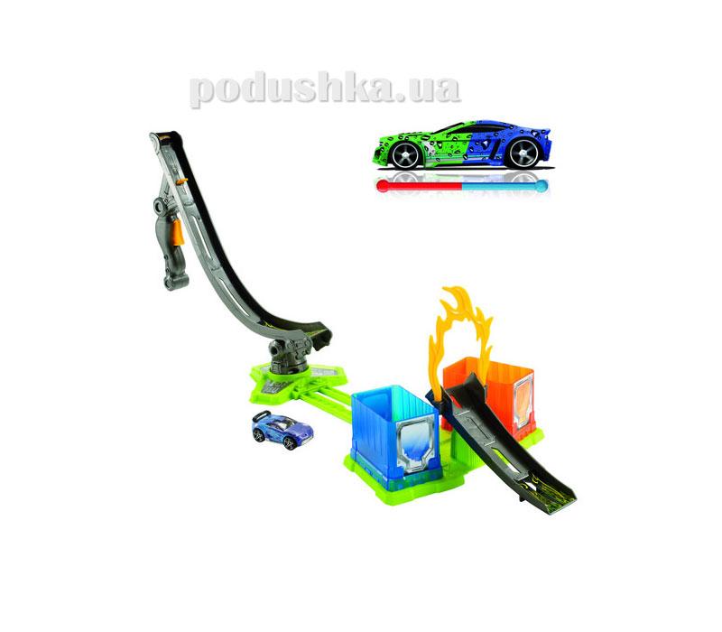 Игровой набор Тюнинг-центр серии Измени цвет Hot Wheels в ассортименте