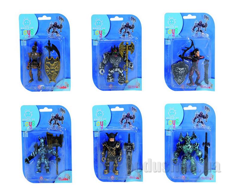 Игровой набор Воин тьмы 6 видов Simba 437 6817